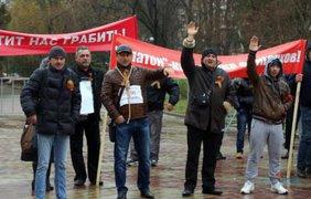 Дальнобойщики едут на Москву, чтобы добиться внимания власти