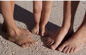 Семья на отдыхе в Испании