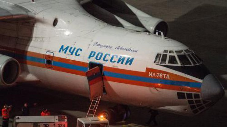 Первый спецборт МЧС России доставил багаж российских туристов покидающих Египет в Москву