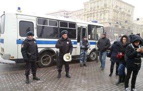 В Москве разогнали митинг в поддержку Конституции