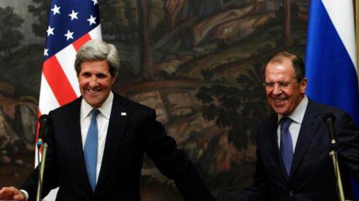 Керри предложил сплотиться сРоссией для выполнения «Минска-2» иотмены санкций
