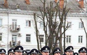 Новая полиция в Хмельницком. Фото Арсен Аваков