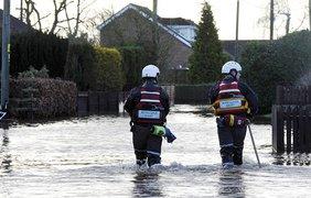 Север Англии разрушает сильнейшее наводнения