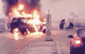 В Санкт-Петербурге расстреляли машину ОМОНовцев