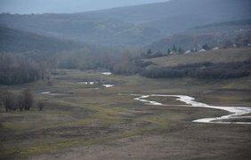 Водохранилища Крыма пересохли из-за блокады