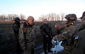 Обмен пленными. Фото Виталий Гринев