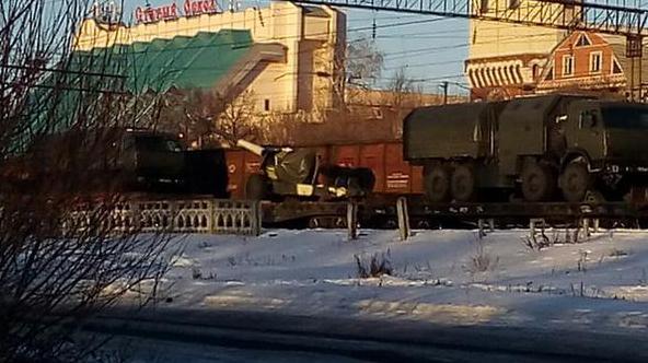 Россия перебрасывает танки и технику к границе с Харьковом (фото, карта), фото-2