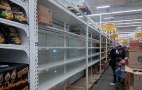 Продуктовая паника в Киеве