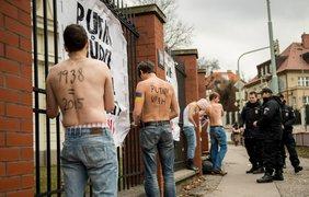В Праге протестовали против Путина и войны на Донбассе. Фото Facebook Karel Polak