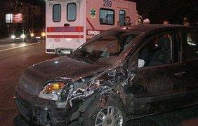 Виновник аварии выпивал за рулем. Фото Виталий Мирошниченко lb.ua