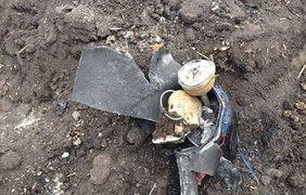 Бомбу замаскировали под огнетушитель