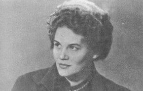 Украинская поэтесса. Facebook @ Лина Костенко