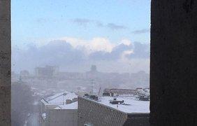 Москву атаковал снежный циклон