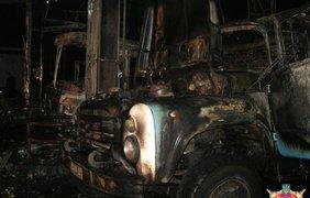 На автозаправке взорвались баллоны с метаном