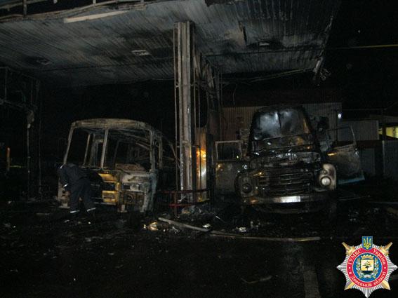 На автозаправке в Славянске произошёл взрыв (ВИДЕО)