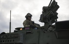 Солдаты НАТО участвуют в Драгунском рейде