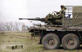Террористы проводят учения под Донецком