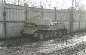 Украина отводит технику