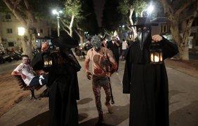 """Парад зомби"" в Тель-Авиве"
