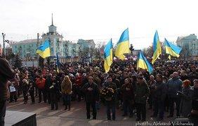 Год, как не стало Луганска. Фото Александр Волчанский