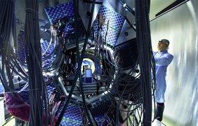 ATLAS – один из четырех огромных детекторов для БАК в ЦЕРН