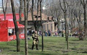 Пасха в Донецке