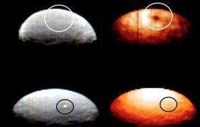 Церера - необъяснимые вспышки в различных спектральных диапазонах