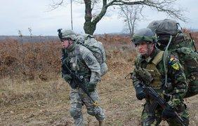173-я десантная бригада США на учениях