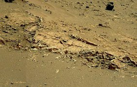 Город-сад на Марсе попал в объективы Curiosity. фото - Red Planet Report