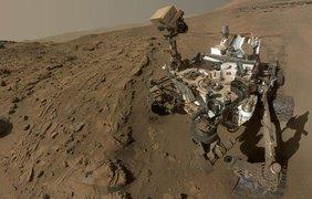 """Марсоход Curiosity """"чекинится"""" на пути к """"Городу-саду"""". фото - NASA/JPL-Caltech"""