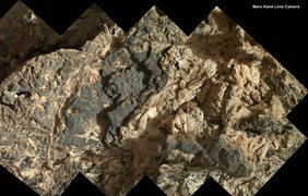 """Жилы минералов в """"Городе-саду"""". фото - NASA/JPL-Caltech"""