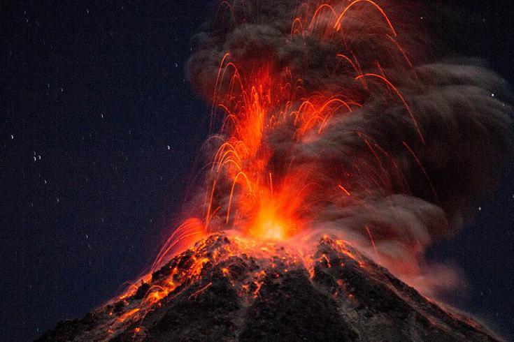 действие вулкана картинка этого его