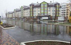 В Киеве выпал снег в апреле. Фото facebook.com/vitek.records
