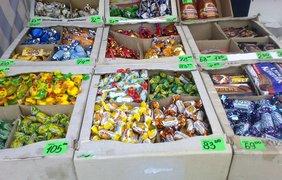 Конфеты ''Roshen'' свободно продаются в Луганске
