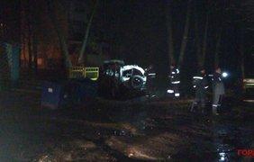 Взрыв авто в Харькове