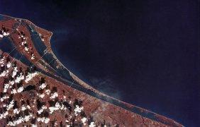 Мыс Канаверал, на котором располагается космодром НАСА