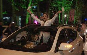 Радость иранцев