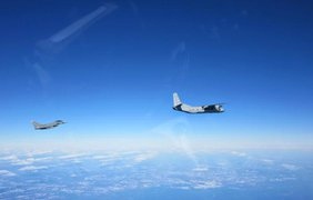 Перехват российской авиации в небе Балтики