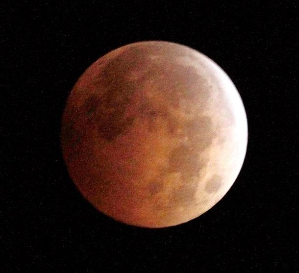 Лунное затмение 2015 восход кровавой