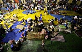 Мощный тайфун на Филиппинах