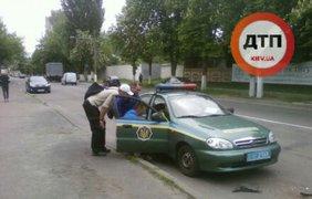 Пьяный водитель ВАЗа протаранил иномарку сзади
