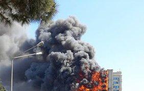Пламя охватило дом в считанные минуты