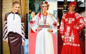 ..и Катя Осадча таки одела аж 3 трационных костюма. фото - Катя Осадча via Instagram