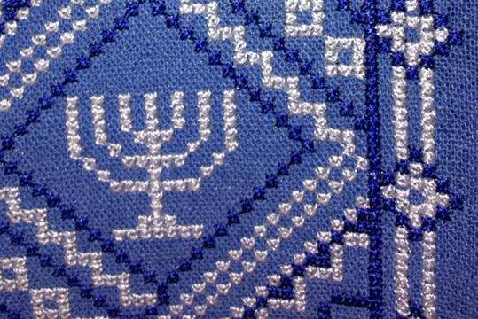 Вышивка еврейский орнамент 47