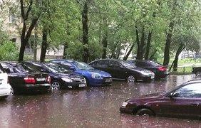 Москва утонула из-за ливня