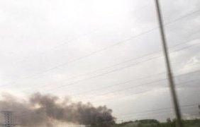 Очевидцы сообщают, что взрыв был очень мощный. Фото gazeta.ru