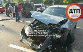 В ДТП  разбилось 8 авто