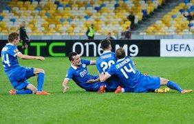 Украинцы показали достойную игру