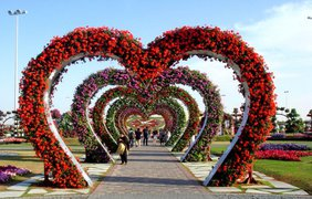 Невероятный сад в Дубае