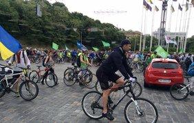 Велогонка на Крещатике